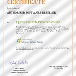 Reseller_Certificate_Egenx Systech
