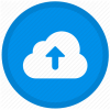 Cloud upload icon for upgrades