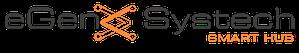 EgenxSystech Black Logo